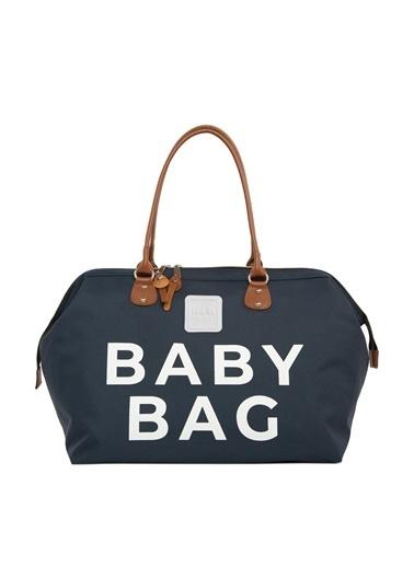 Bagmori Baby Bag Baskılı Bebek Bakım Çantası M000002169 Lacivert